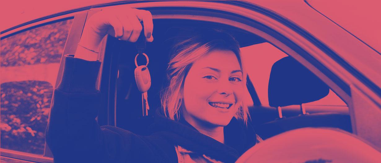 Driving header