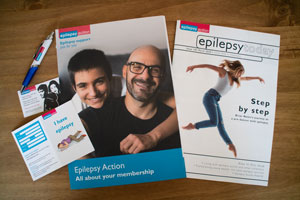 Epilepsy Action membership pack