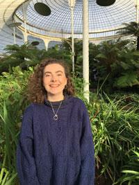 Ally in a botanical garden